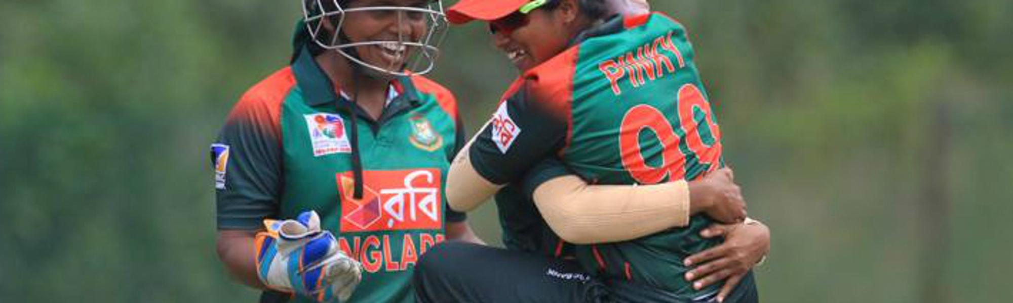 Bangladesh had reduced India to 74/7 at one stage