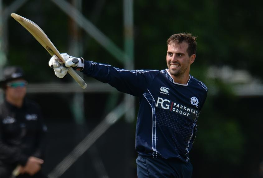 Calum Macleod hit 140 in a special day for himself and Scotland
