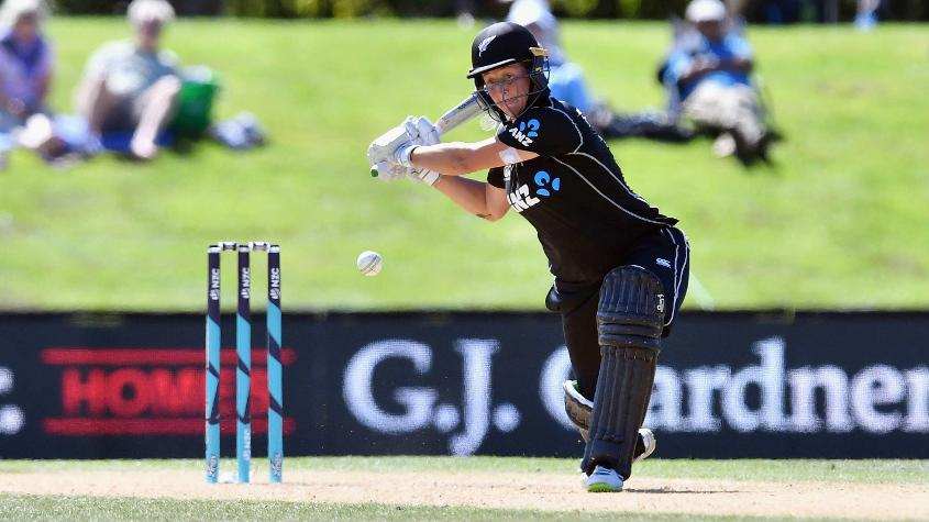 Sophie Devine cracked a 61-ball 108 as New Zealand won the second ODI by 306 runs