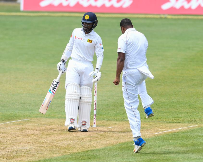 Gabriel removed Udawatte for the first of his five wickets