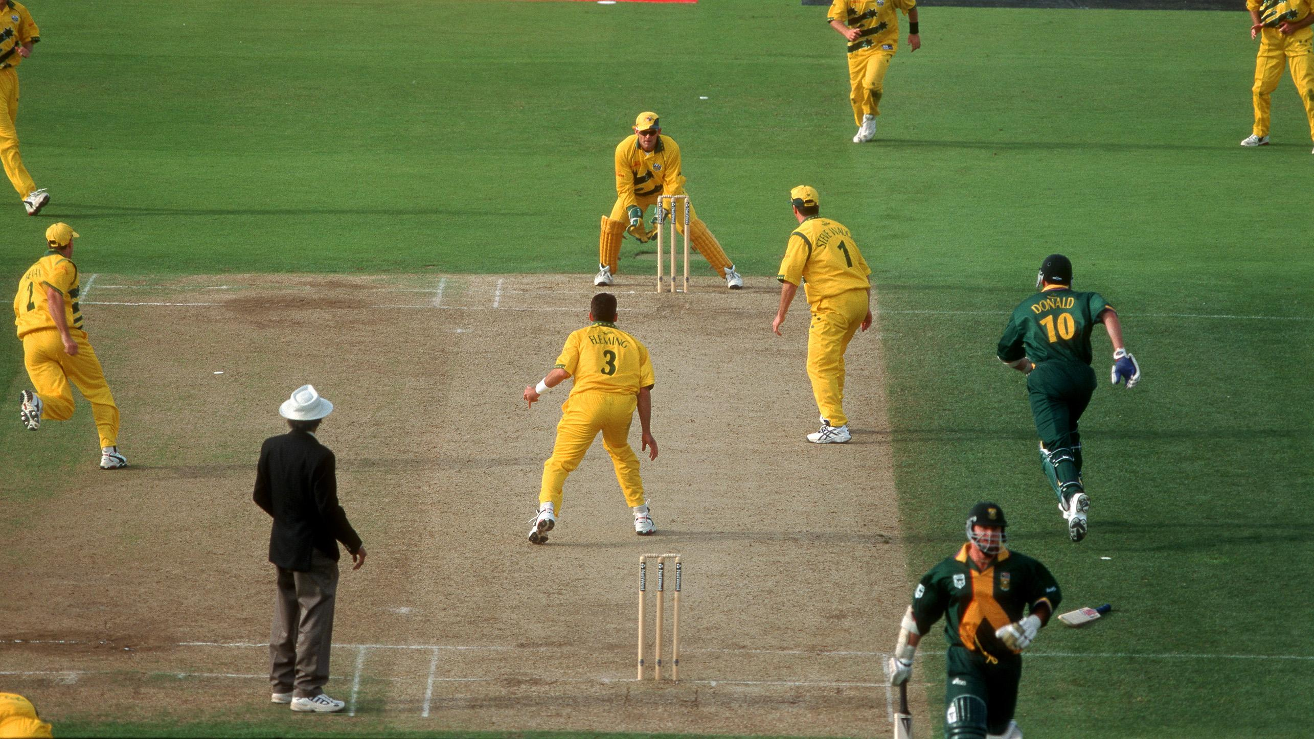 South Africa were destined to enter the Final of the 1999 CWC