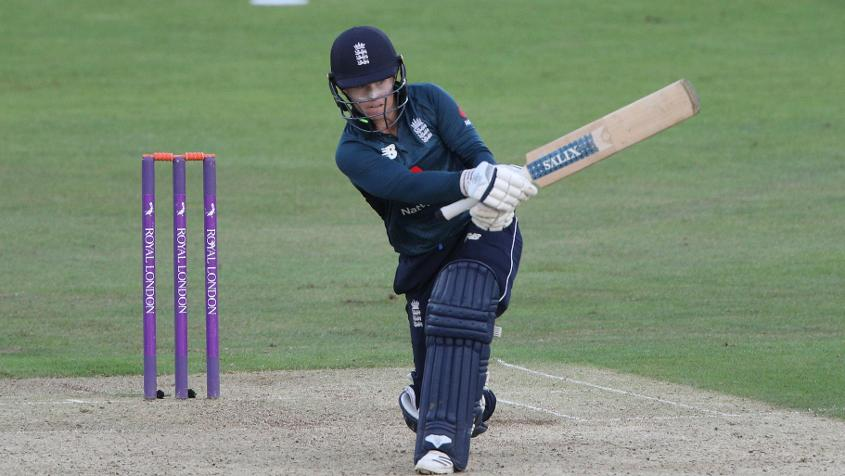 Tammy Beaumont scored back-to-back hundreds, in the second and third ODI