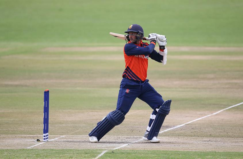 Wesley Barresi hit his first T20I half-century for three years