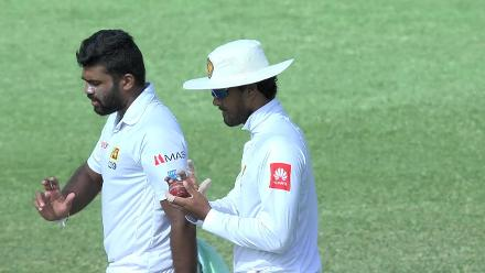 Chandimal found guilty of changing the condition of the ball