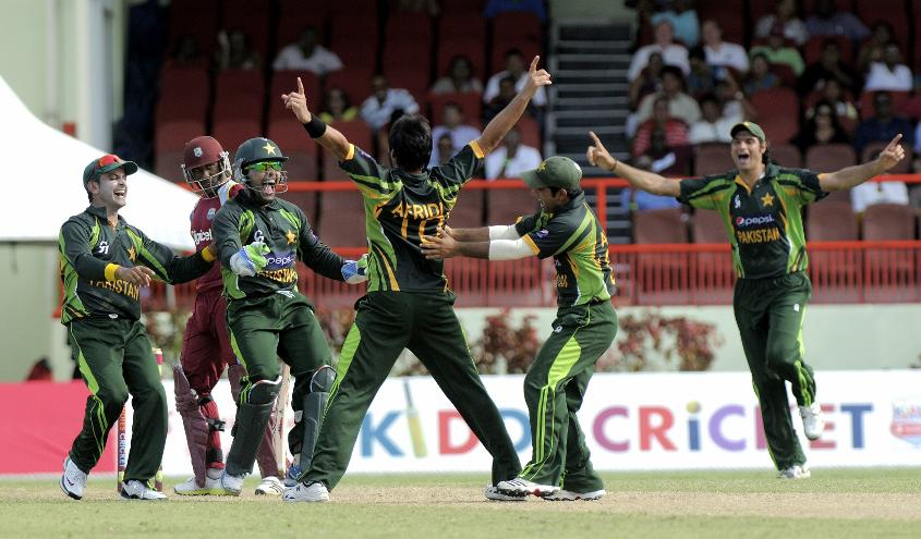 Shahid Afridi lit up the Guyana National Stadium with a stunning all-round performance
