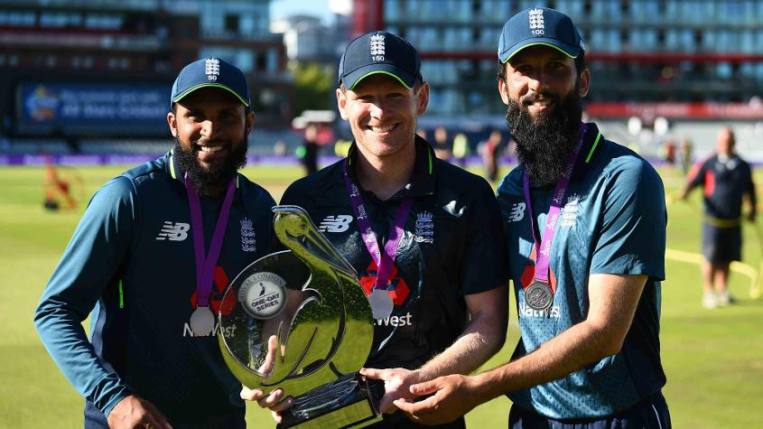 Adil Rashid and Moeen Ali played major roles in the success of Eoin Morgan's side