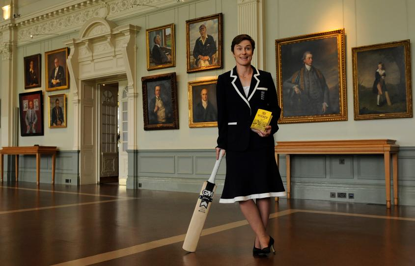 Claire Taylor was the first woman to be named Wisden's Cricketer of the Year