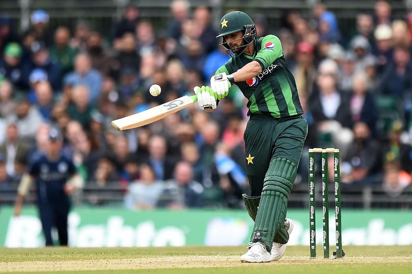Shoaib Malik registered scores of 53 and 49* in the two-match T20I series against Scotland
