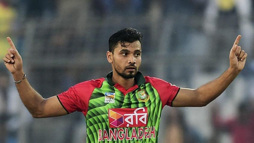Mashrafe Mortaza will lead Bangladesh in the three-match series