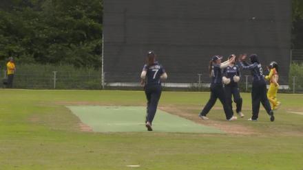 WT20Q: Abtaha Maqsood's three-wicket haul gives Scotland a win