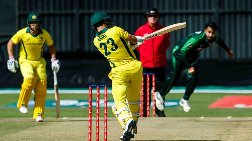 D'Arcy Short top scored for Australia with 76, scored in 53 balls