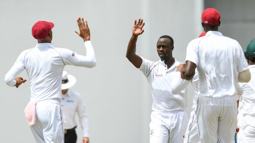 The Windies pacemen had a fantastic time in the Antigua Test