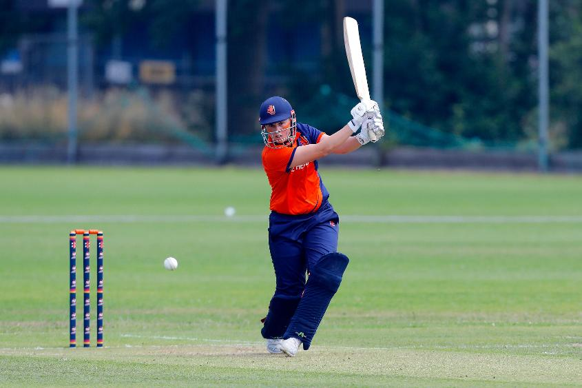 Heather Siegers scored a 43-ball 46 in the group-stage match against Uganda