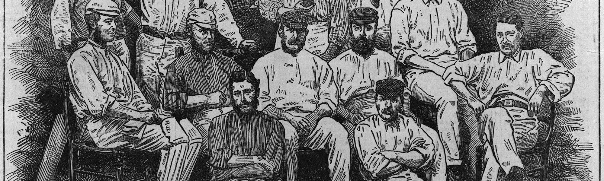England - first XI 1877