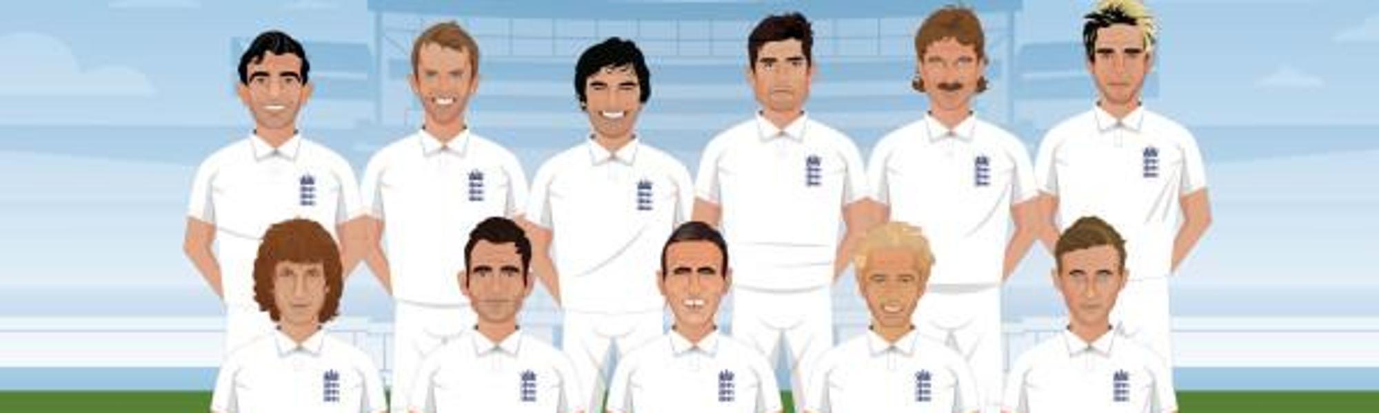 England Best Test XI