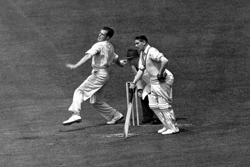 Jim Laker became the first ever bowler to pick all ten wickets in an innings