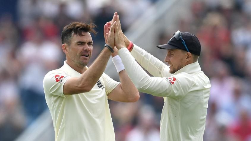Anderson and Root are England's highest-ranked bowler and batsman respectively
