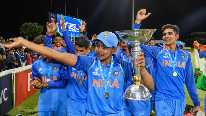 India won the ICC Under 19 World Cup 2018