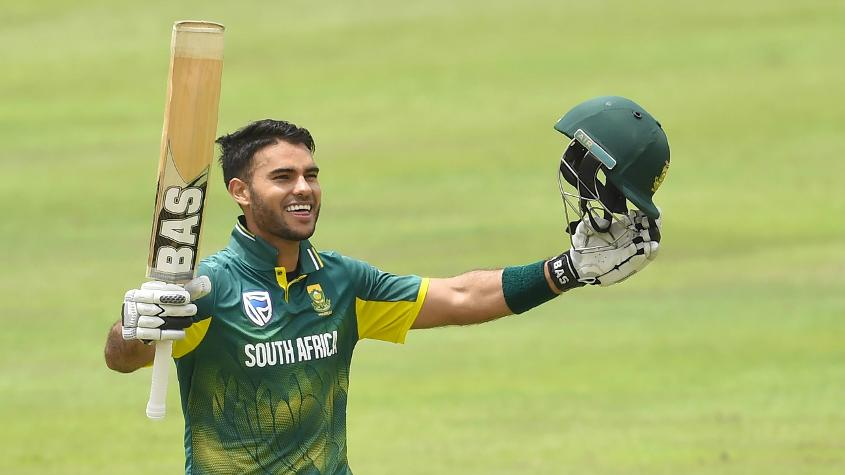 Reeza Hendricks scored the fastest century by an ODI debutant