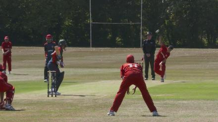 U19CWCQ Europe Div 2: Denmark v Norway – Wicket for Denmark