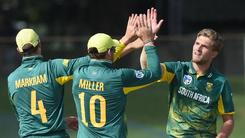 The South African bowlers had far too many runs to play with in the third ODI