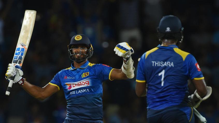 Dasun Shanaka and Thisara Perera were the architects of this Sri Lankan victory