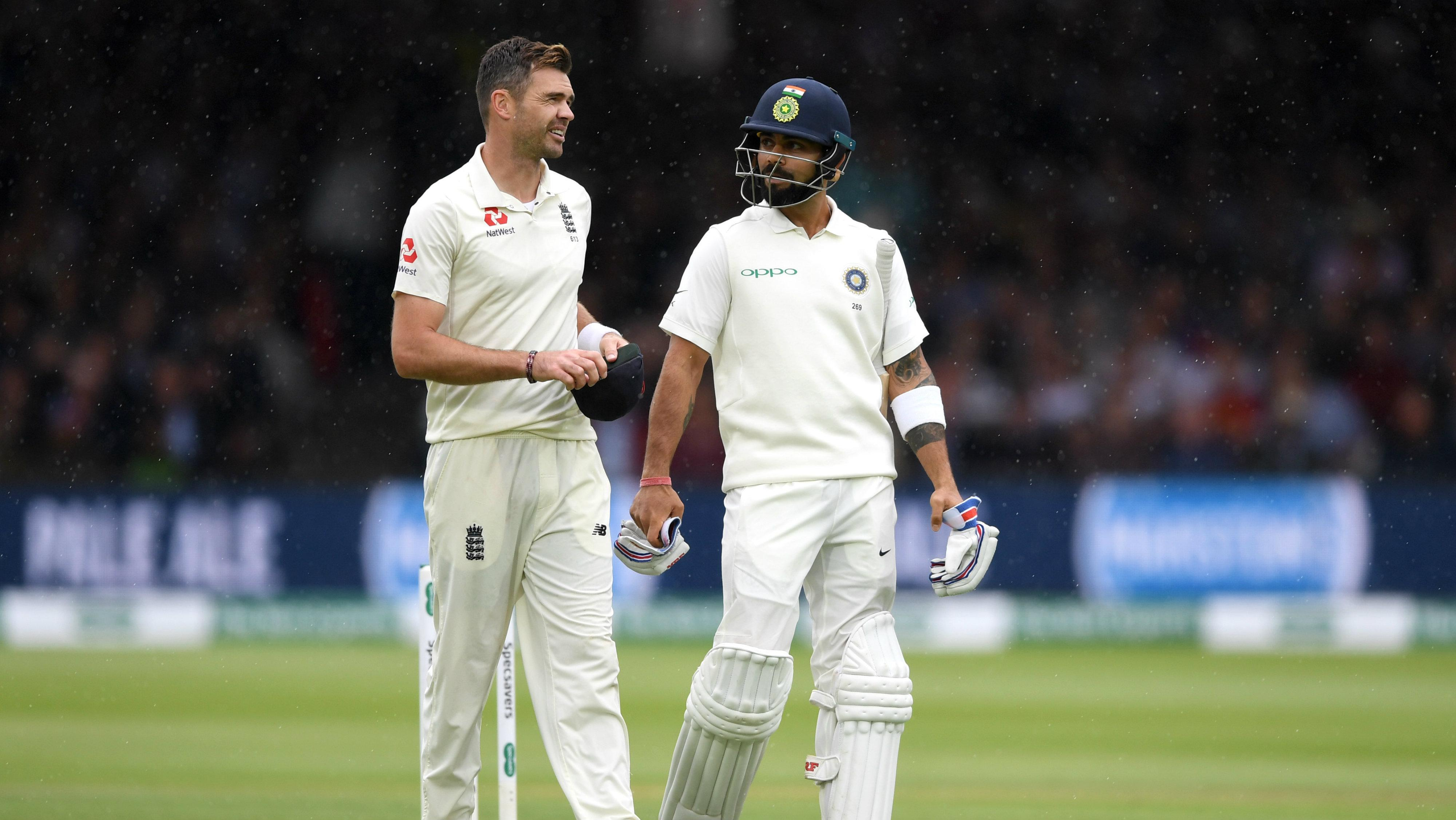 Why can't he edge them like everyone else?' – Anderson on Kohli