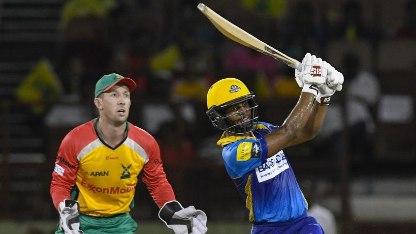 Shai Hope led the Barbados batting charge with a stroke-filled 88