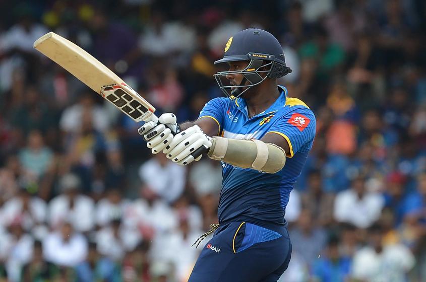 Angelo Mathews hasn't played a T20I since December