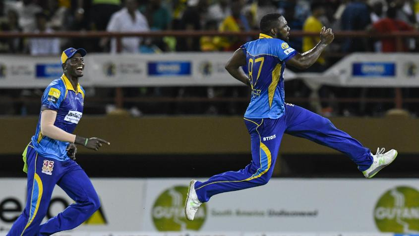 Raymon Reifer ran through the Guyana innings to return a five-for