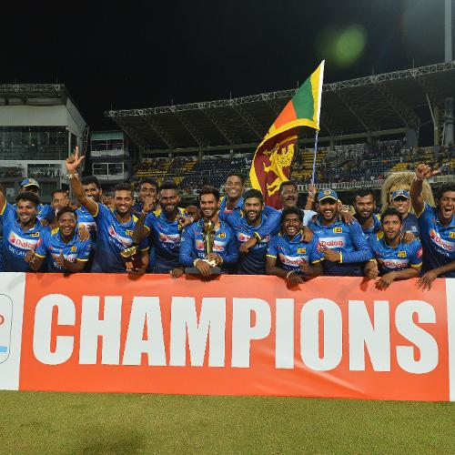 South Africa's tour of Sri Lanka concluded with a victory for the hosts in a low-scoring thriller
