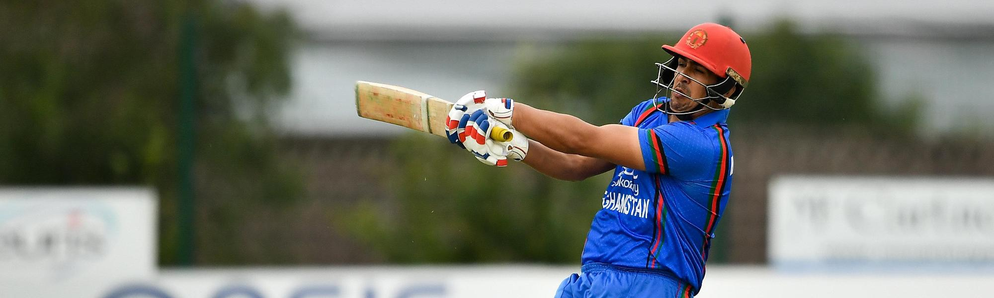Hazratullah Zazai starred in the victory with a swashbuckling 33-ball 74