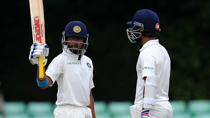 Prithvi Shaw scored his highest first-class score of 188 against Windies A