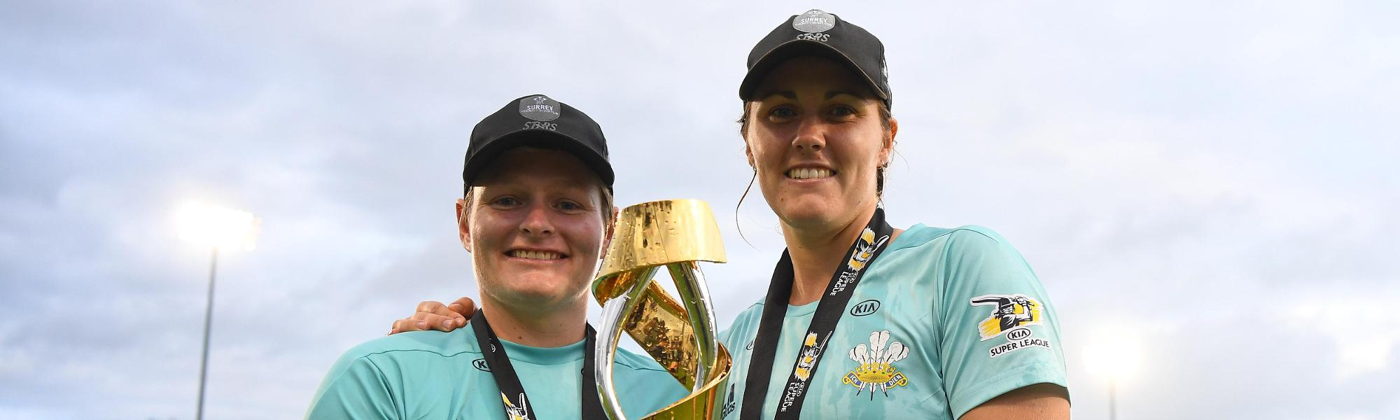 Lee and Sciver WCSL trophy