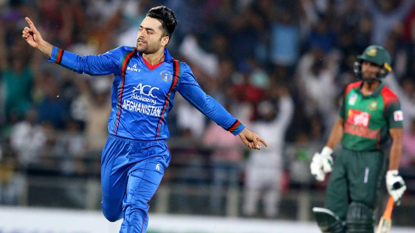 Rashid Khan is the No.1-ranked T20I bowler in the world