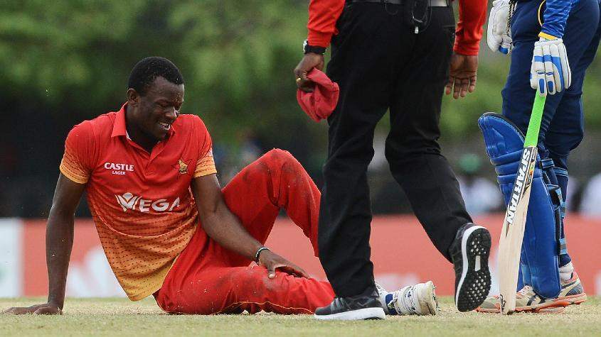 Carl Mumba hasn't played at all since breaking his knee in Hambantota in July 2017