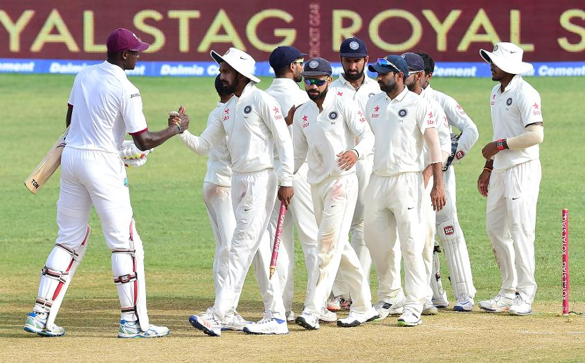 India and the Windies will play two Tests