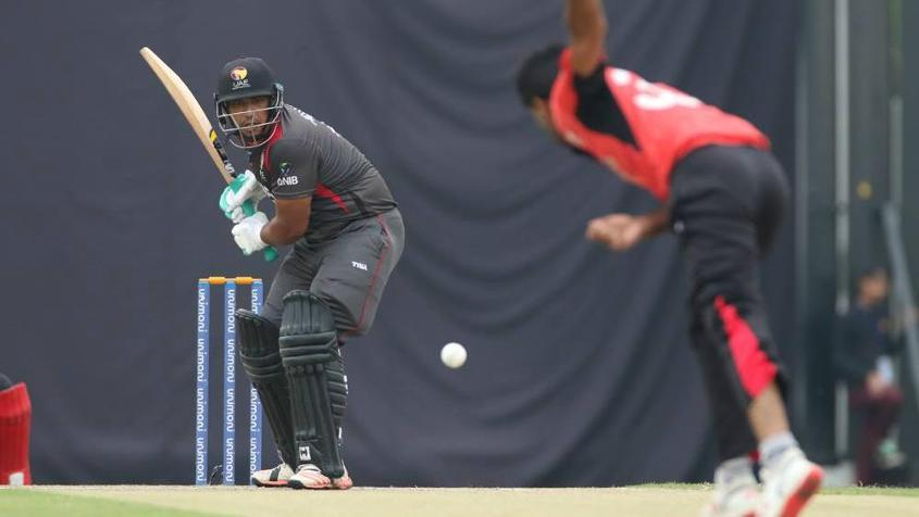 Ashfaq Ahmed played a blinder, scoring 79 in 51 balls