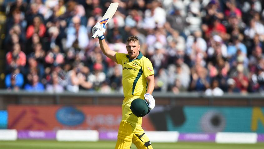 Aaron Finch has represented Australia in 135 limited overs games.