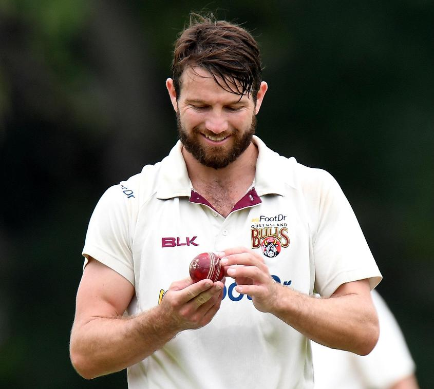 Michael Neser took 39 wickets from 10 games at 21.84 for Queensland in the 2017-18 season.