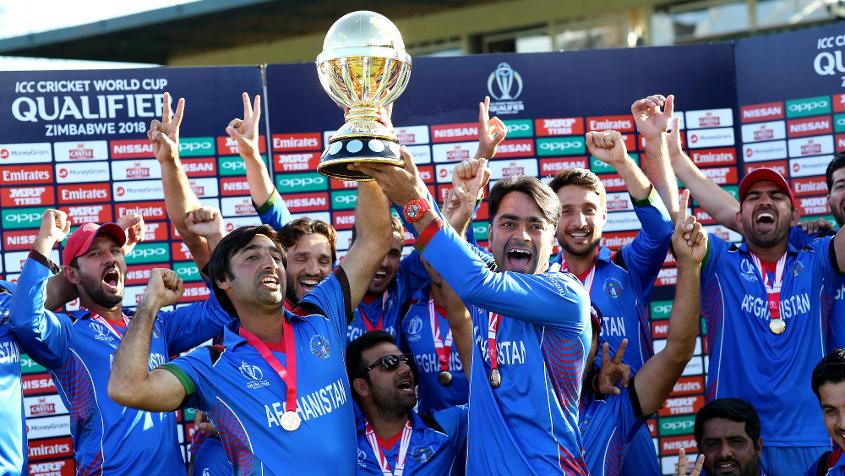 Afghanistan won the ICC Cricket World Cup Qualifier 2018