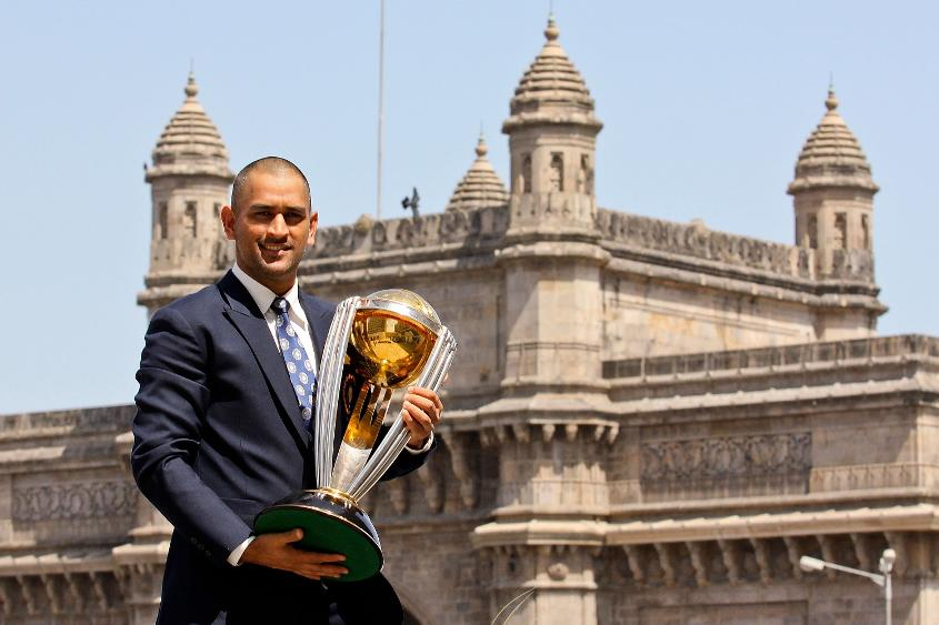 Dhoni was captain for India's 2011 World Cup victory