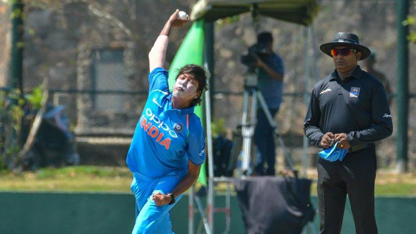 Jhulan Goswami finished with 2/39 from 10 overs
