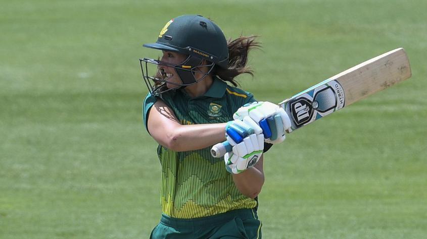 Sune Luus led the South Africa batting charge with an 86-ball 58