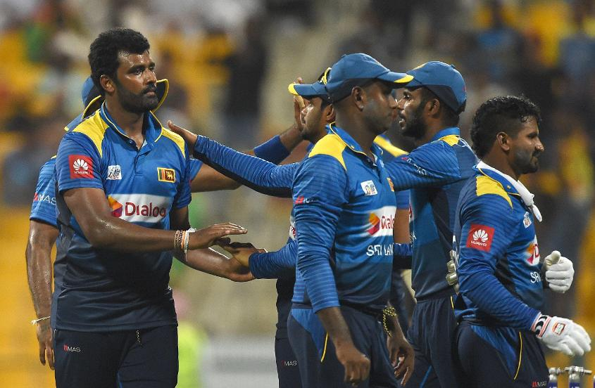 Thisara Perera returned 5/55 – his firstfive-wicket haul since 2012