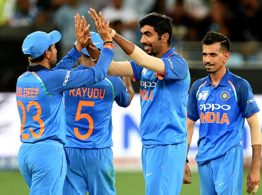 Jasprit Bumrah was the pick of India's attack