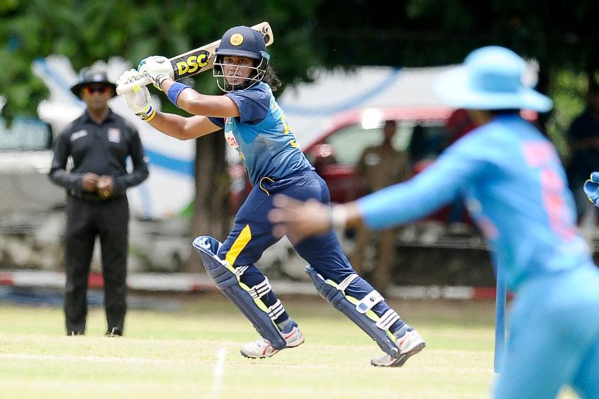 India won the five-match T20I series in Sri Lanka 4-0