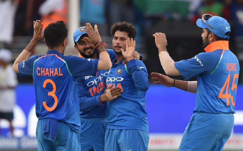 Kuldeep claimed three key wickets