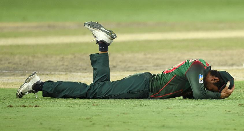 Bangladesh were distraught at the result
