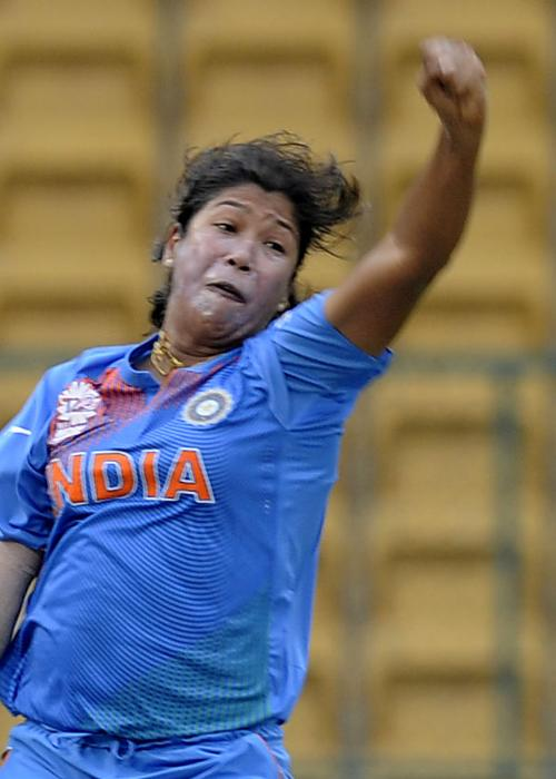 21 - No. of WT20 matches played by Jhulan Goswami